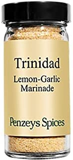 Trinidad Style Lemon-Garlic Marinade By Penzeys Spices 3.2 oz 1/2 cup jar