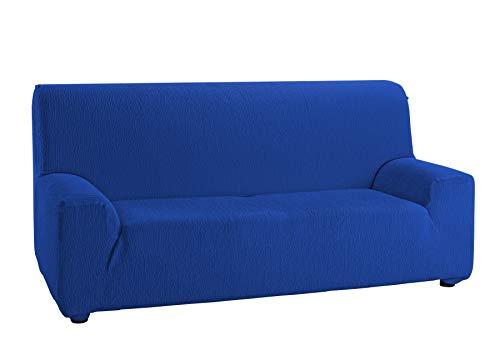 Martina Home Emilia, Funda Elástica para Sofá de 2 Plazas, Azul Electrico, de 120 a 190 cm de ancho