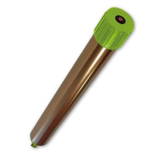 ISOTRONIC® Ahuyentador de topos, Efectivas vibraciones por ultrasonido contra ratón, rata, hormiga, topillo, serpiente - Repelente de alta frecuencia para exteriores - Paquete de 1 piezas