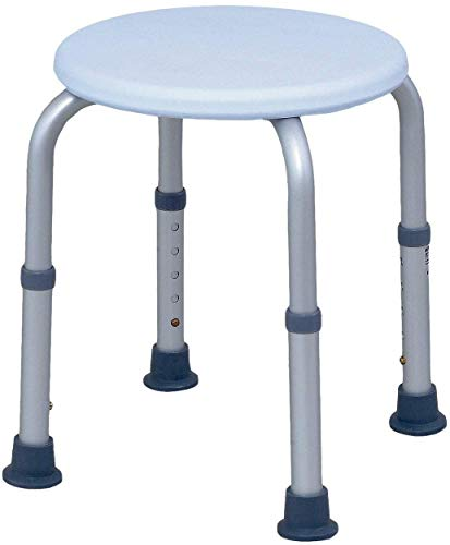 CHUNSHENN Bath Chair, Adjustable Shower Stool Shower Seat, Old Man Shower Chair Suitable for The Elderly, Pregnant Women, Children, Disabled People Mobile Wheeled Bathroom Wheelchairs