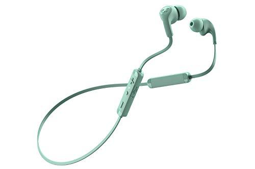 Fresh 'n Rebel Flow Wireless Tip In-ear Headphones | Auricolari Bluetooth con cuscinetti in 3 taglie, microfono e comandi integrati Wireless – Misty Mint
