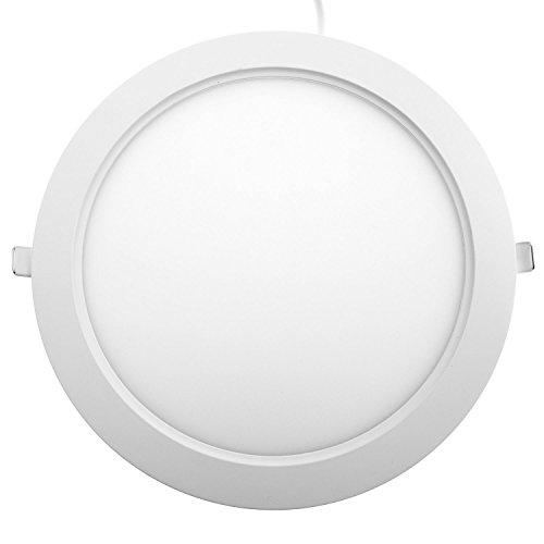 Taloya Star 18W LED Einbauspot Einbauleuchte Spot, Plastik, 18 W, Neutralweiß, Ø22,5cm