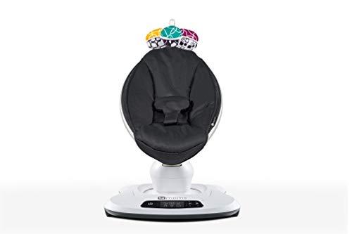 Cadeira de Descanso Mamaroo 4.0 Classic Black, 4 Moms, Preto