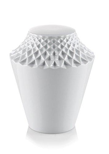 legendURN Design-urne en Porcelaine 'Fleur de Lotus' Brillant
