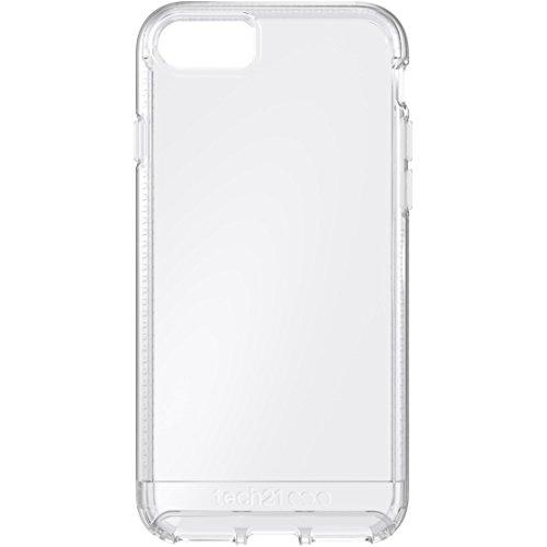 Tech21 Impact Clear Hülle mit BulletShield Aufprallschutz für Apple iPhone 7 - Transparent