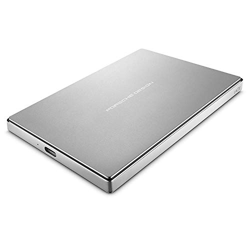 Disco rigido esterno da 2'Lacie Porsche Design da 2,5' USB-C, USB3.0 - PC/MAC