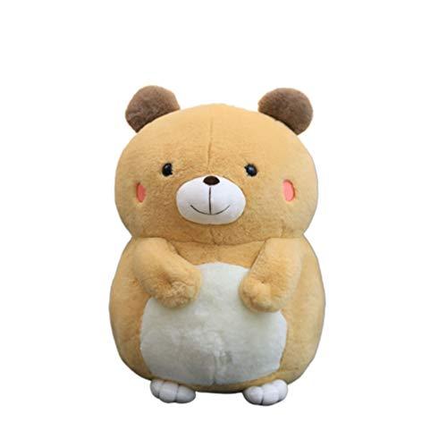 Toyvian Stofftier Bär Spielzeug Niedlich Weiche Cartoon Puppe Figur Figur Umarmung Kissen Niedlich Schöne Cubby Floppy Plüschtier Geburtstagsgeschenke 50Cm