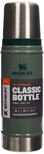 Stanley Classic Legendary Bottle 1,4 Liter / 1.5QT Hammertone Green - Edelstahl-Thermoskanne - BPA-frei -Hält 40 Stunden heiß - Deckel fungiert als Trinkbecher - Spülmaschinenfest - Lifetime Warranty