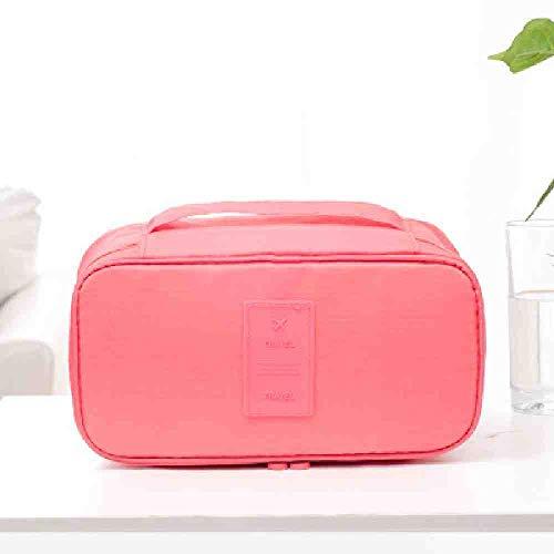 OYHBGK Paquet de soutien-gorge féminin multifonctionnel de voyage de loisirs chaussettes stockage de lingerie sac cosmétique paquet organisateur cosmétique