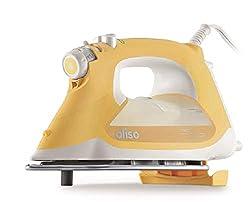 Image of Oliso Pro TG1600 Smart Iron iTouch Technology, 1800 Watts, Butterscotch: Bestviewsreviews