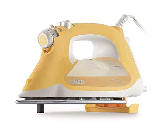 Oliso Pro TG1600 Smart Iron iTouch Technology, 1800 Watts, Butterscotch
