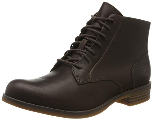 Timberland Magby Mid Lace-up, Stivali Donna, Marrone Dk Brown Full Grain, 36 EU