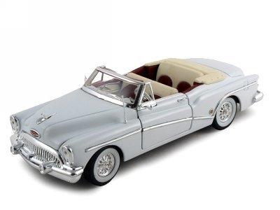 1953 Buick Skylark Diecast Car Model White 1/32