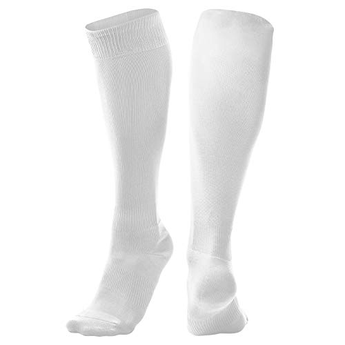 CHAMPRO Pro Socks, Single Pair, Adult Large, White