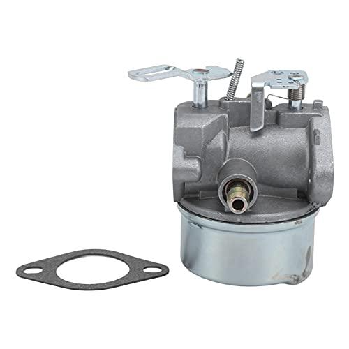 Carburatore Assy, Carburatore 640058A Sostituzione per Motori di Spazzaneve Orizzontali Tecumseh...