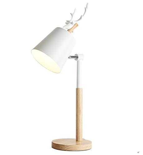 Lámpara de Mesa Lámpara de mesa moderna asta Hogar Dormitorio Sala de estar Estudio Lámpara de cabecera Lámpara de mesa pequeña Lámpara de Cabecera