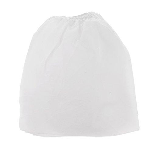 10 Stücke Weiß Vlies Ersatz Taschen Staubbeutel Für Nail art Staubabsaugung