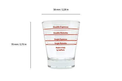 Italparts Espresso Shot Glass (1 Stück)