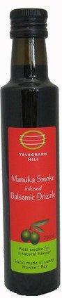 マヌカ燻製風味バルサミコ酢 250ml Manuka Smoke Balsamic Drizzle