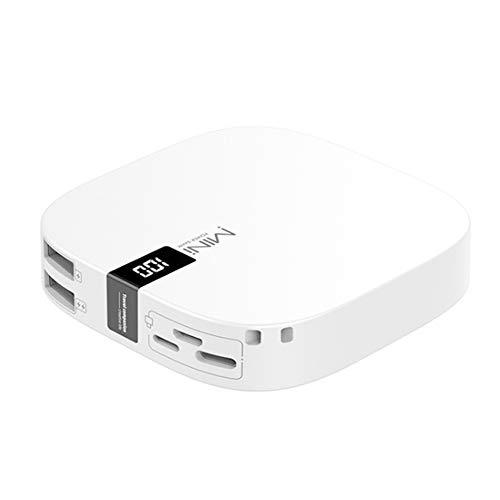 GWX Neue Tragbare Mobile Stromversorgung, 10000 Mah 2.1a Schnellladung Mit Led-digitalanzeige, Doppelter USB-Ausgang