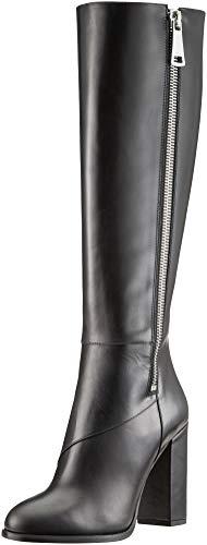 HUGO Damen Hoxton Boot 100-C Hohe Stiefel, Schwarz (Black 001), 41 EU