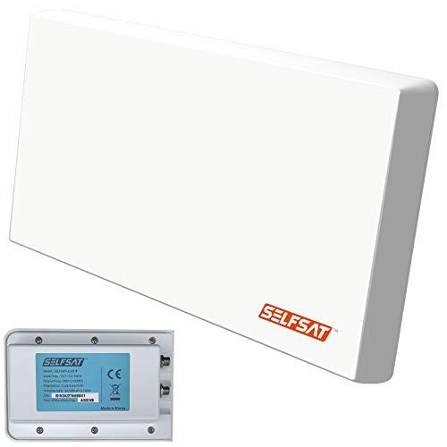 SELFSAT H22D2+ UHD 4K Twin mit Multifunktionshalterung