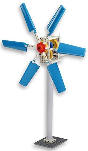 Betzold 83931 - Windkraft-Bausatz - Lernbaukasten zur Windenergie, Experimentierkasten, 133-teilig
