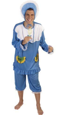 Disfraz Bebé adulto Azul