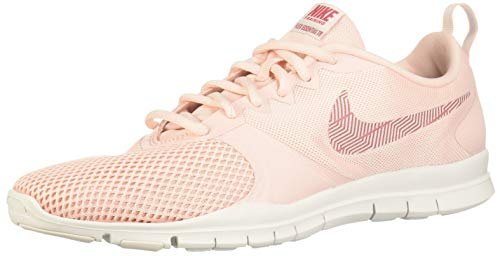 Nike Womens Flex Essential Training Shoe, Zapatillas de Deporte para Mujer, Rosa (Echo Pink/Light Redwood/Vast Grey 605), 42 EU