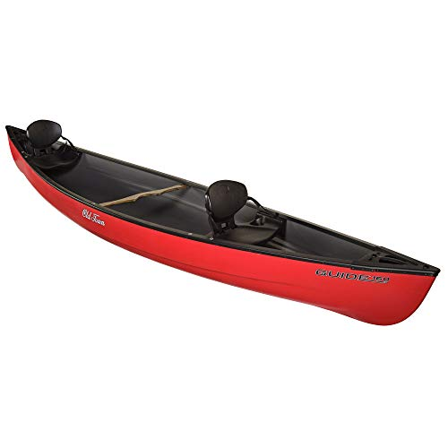 Old Town Canoes & Kayaks Guide 160 Recreational Canoe, Red, 16 Feet