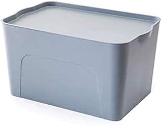 Lpiotyucwh Paniers et Boîtes De Rangement, Boîte de rangement de pile et de tirage, 1pcs empilables grandes conteneurs de ...