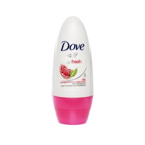 3x 50ml Dove antisudorifique Roll-on Aller frais Pomegranate