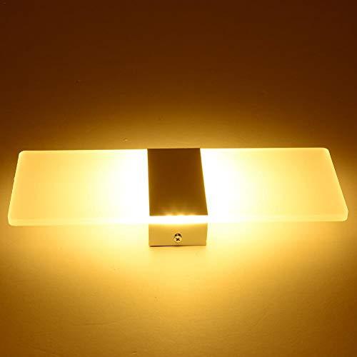 LED-wandlamp, Moderne Wandlamp Met Hoge Helderheid, Wandmontage Licht, Koud Wit Warm Licht, Voor Slaapkamer Gang Hotel Decoratie, Binnen Buiten Wandlamp