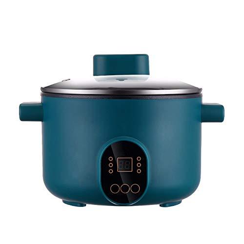 SLFPOASM Mini Cocina Eléctrica Multifuncional De 3L, Olla Eléctrica Al Vapor, Guisada,...