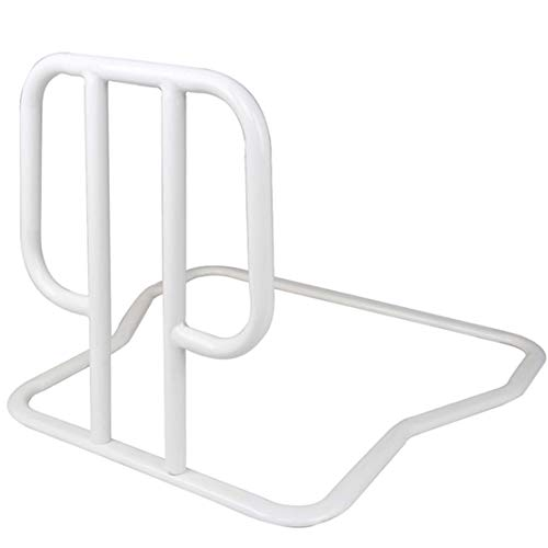 Giardino Bed Rails for Elderly Adults, Bed Assist Rail Home Safety Bed Railings for Seniors Bedside Handrail Handle Support Bar for Handicap, Easy to get in or Out of Bed Safely with Floor Support