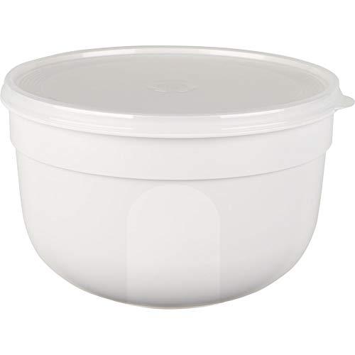 Emsa–Recipiente hermético–Cuenco con Tapa softem Extra, plástico, Weiss, 2,25 L
