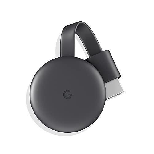 Google Chromecast 3 - Transmita seu conteúdo de onde e quando quiser | Streaming em Full HD