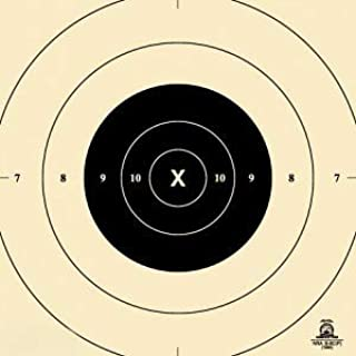 Official NRA B-8C Target, 25 Yard Slow Fire Center, Paper Target, Repair Center for B-8, 10.5
