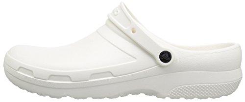Crocs Specialist II Clog Unisex Adulta Zoccoli, Blanco (White), 39/40 EU