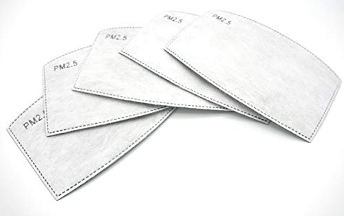 PM 2.5 Filter Aktivkohlefilter Wechselfilter Schutzfilter mit Aktivkohle 5-lagig