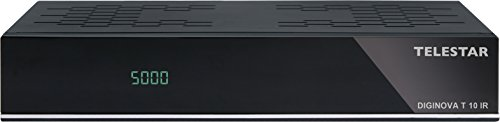 Telestar 5310488 Diginova T 10 IR DVB-T2 HD Receiver mit Irdeto Entschlüsselung (Freenet TV, H.265/HEVC, HDMI, Scart, USB, LAN) schwarz