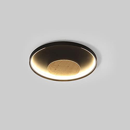 WFZRXFC Luz de Techo LED de Montaje Empotrado con luz Interior Circular Simple nórdica La luz Neutra 4000K no es Ajustable Iluminación de Techo Accesorio de iluminación de 2,36 Pulgadas de Grosor
