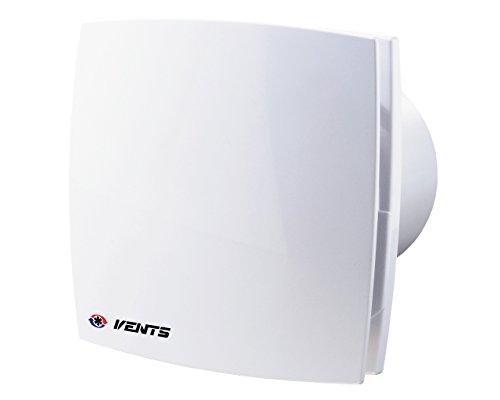 Vents LD Standard Lüfter Bad Ventilator WC Badlüfter leise und stark, Kugellager (Ø 100 mit Rückschlagventil)