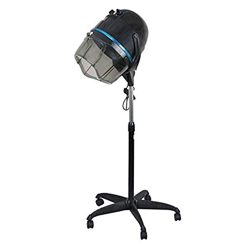 BBBuy Professional 1300W Adjustable Hooded Floor Hair Bonnet Dryer Stand Up Rolling Base Salon Equipment w/Wheels