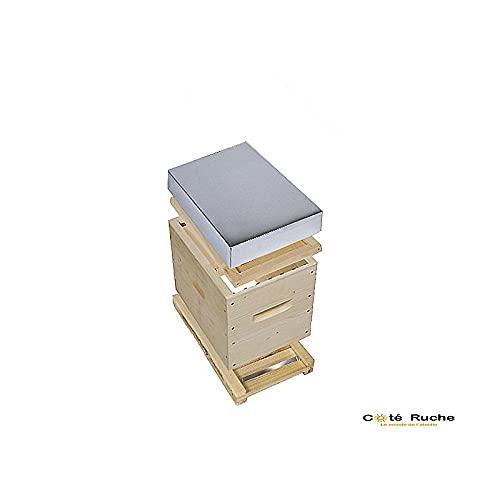 côté ruche Ruchette Dadant 6 Cadres Fond réversible