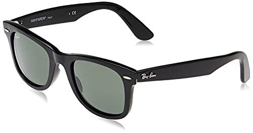 Ray-Ban 4340 Montature, Nero (Black/Green), One Size Unisex-Adulto