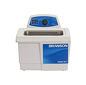Branson Ultrasonics CPX-952-217R Series MH Mechanical Cleaning Bath with Mechanical Timer and Heater 0.75 Gallons Capacity 120V