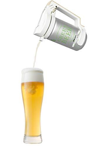 グリーンハウス ビールサーバー ホワイト ハンディタイプ 2019年モデル GH-BEERNEC-WH