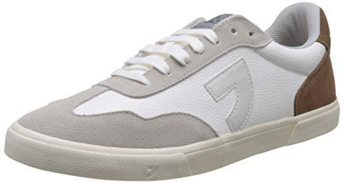 Gioseppo 56832, Zapatillas Hombre, Blanco (Blanco Blanco), 44 EU