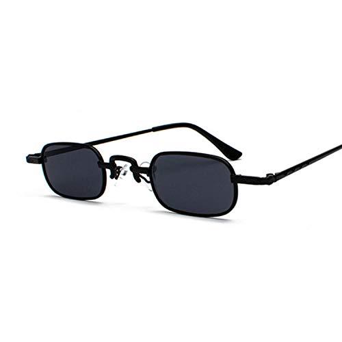 U/N Metal Steampunk Sunglasses Women Fashion Small Square Vintage Sun Glasses Female Eyewear Shades-3